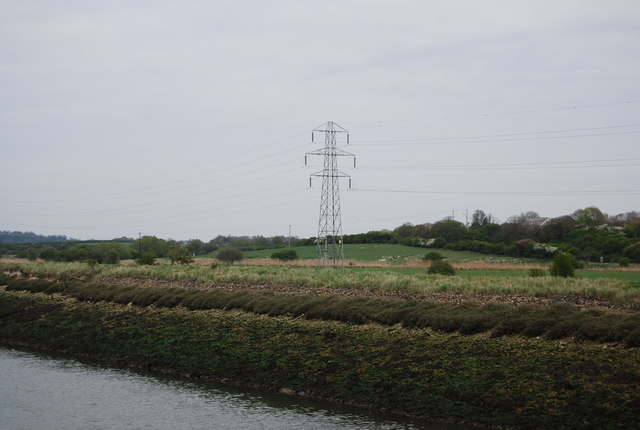Pylon by the River Ouse