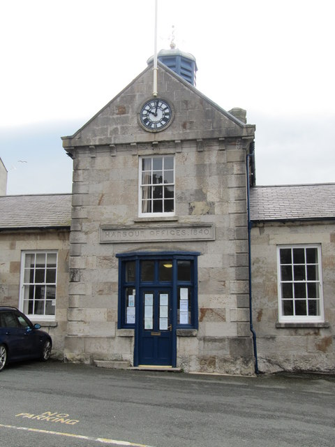 Harbour Offices, Caernarfon