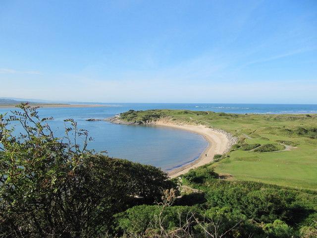Samson's Bay and Ynys Cyngar