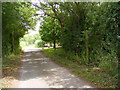 TM2456 : Monewden Road & the footpath to Hall Road by Adrian Cable