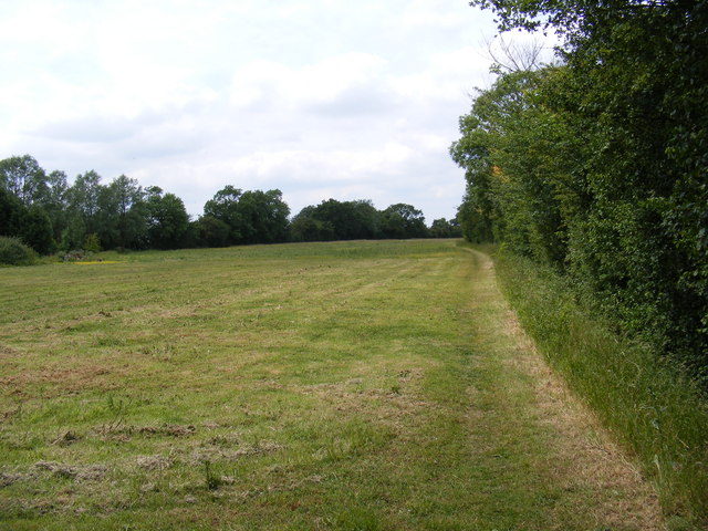 Footpath to Chimer's Lane & Hall Road