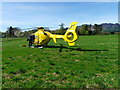 NN7720 : Air Ambulance, West Cowden by Miss Steel
