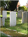 TL1554 : Roxton churchyard: war graves by Christopher Hilton