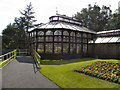 SJ9598 : Stamford Park Conservatory by David Dixon