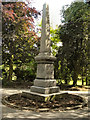SJ9598 : Joseph Raynor Stephens Memorial Obelisk, Stamford Park by David Dixon