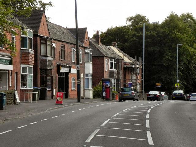 Wakefield Road (A635), Heyrod