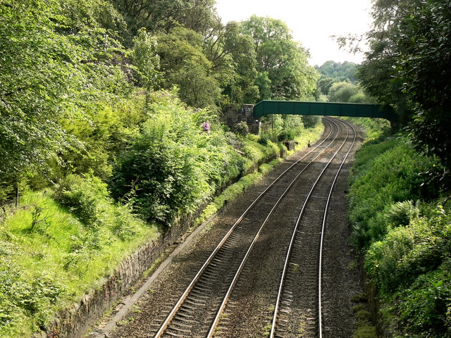 Railway at Heyrod