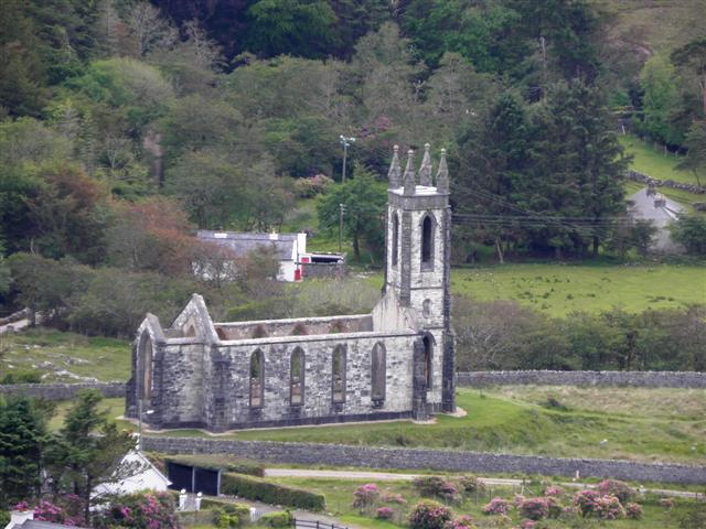 Ruined Church Near Dunlewey 169 Kenneth Allen Cc By Sa 2 0