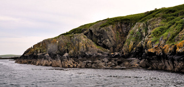 Shore, Lighthouse Island near Donaghadee (2)