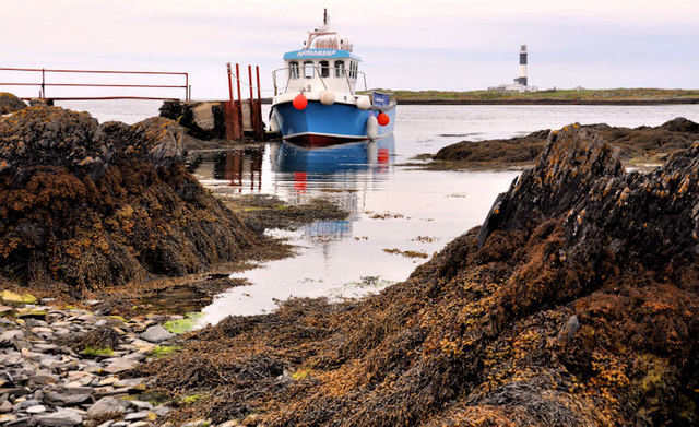 Landing stage, Lighthouse Island near Donaghadee (2)
