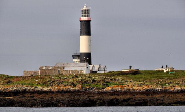 Mew Island lighthouse, Copeland Islands (1)