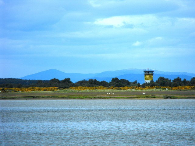 Control Tower at Tain Bombing Range