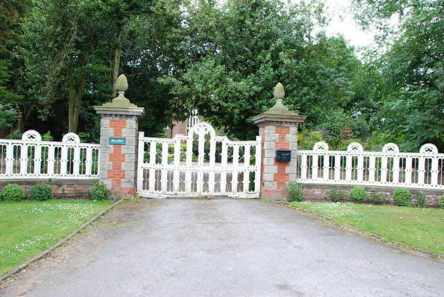 Entrance to Hanch Hall, Lysways Lane