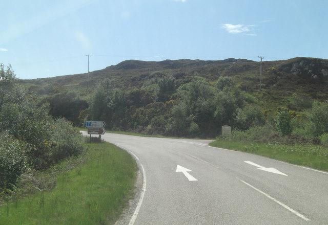 A894 road