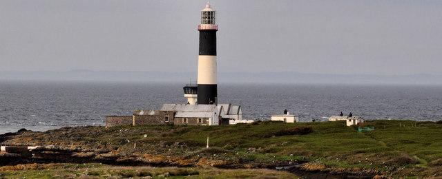 Mew Island lighthouse, Copeland Islands near Donaghadee (2)