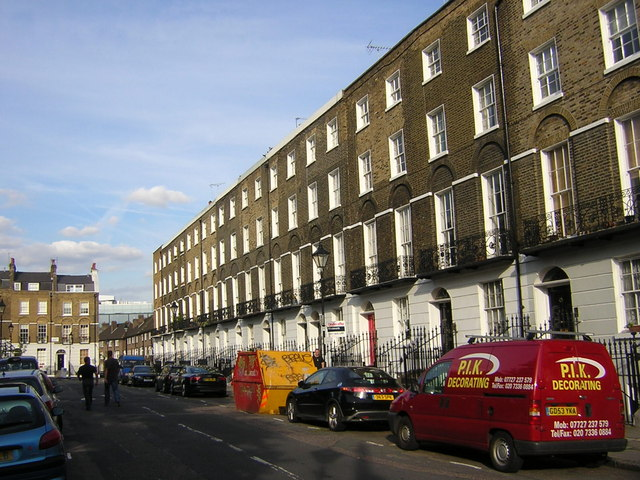 Claremont Square, south side