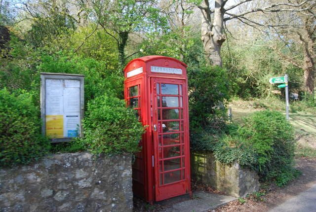 K6Telephone Kiosk, Toy's Hill