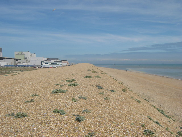 Shingle Bank beside Dungeness Power Station