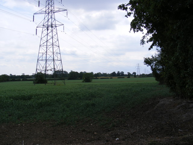 Footpath to the A1120 Several Road