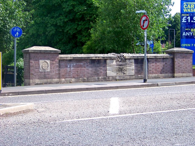 Road bridge over Lyme Brook, Newcastle under Lyme