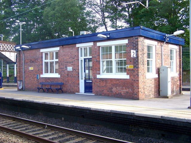 Waiting room, Kidsgrove Station