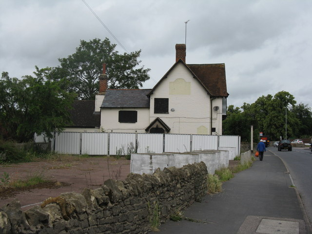 Disused public house at Clapham