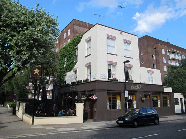 The Star, St. John's Wood Terrace / Charlbert Street, NW8