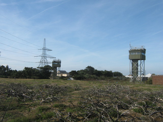 Look-out towers in Lydds Range
