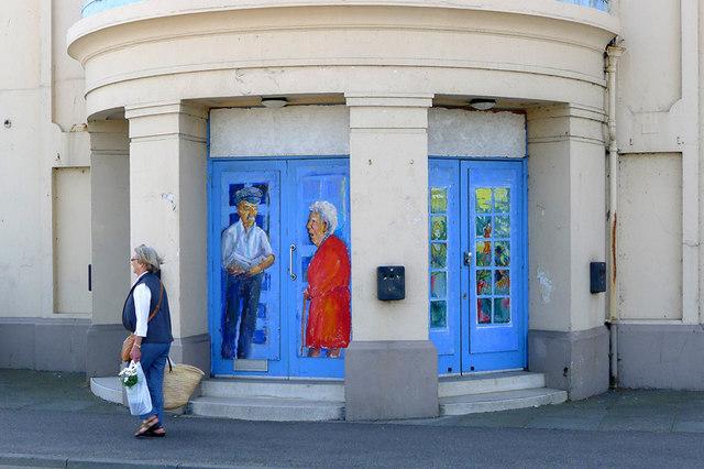 Entrance to the Regent, Deal