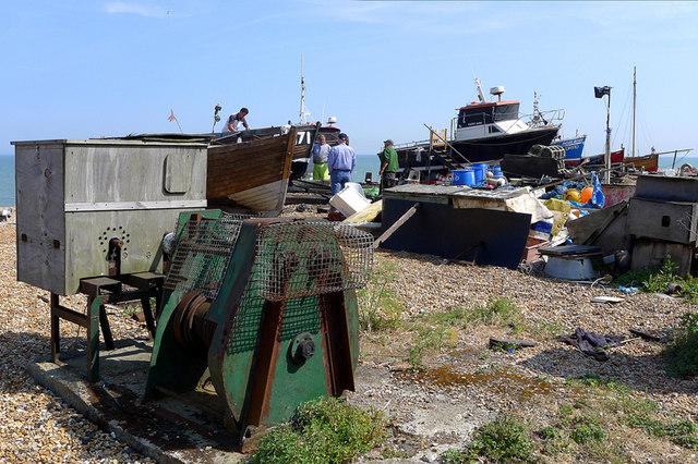 Boatyard on the Beach, Deal