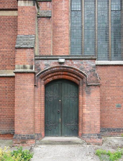 St Benet Fink, Walpole Road, Tottenham - Doorway