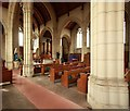 TQ3290 : St Benet Fink, Walpole Road, Tottenham - Interior by John Salmon