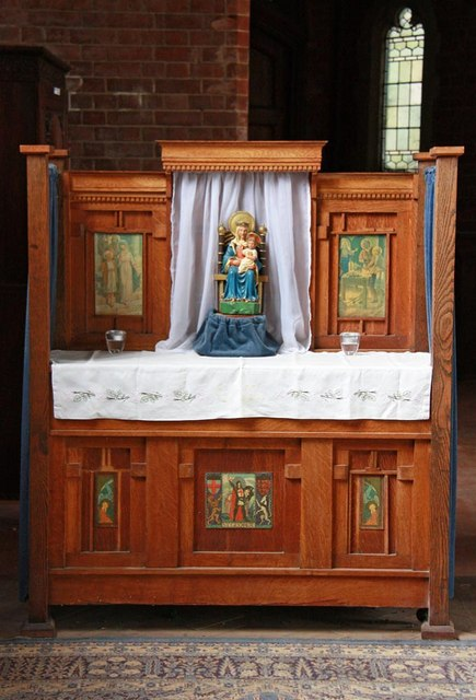 St Benet Fink, Walpole Road, Tottenham - Shrine