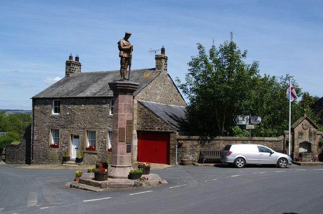 The War Memorial, Slaidburn