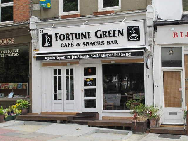 Fortune Green Café & Snacks Bar, Fortune Green Road, NW6