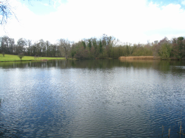 Ornamental lake - Wimpole
