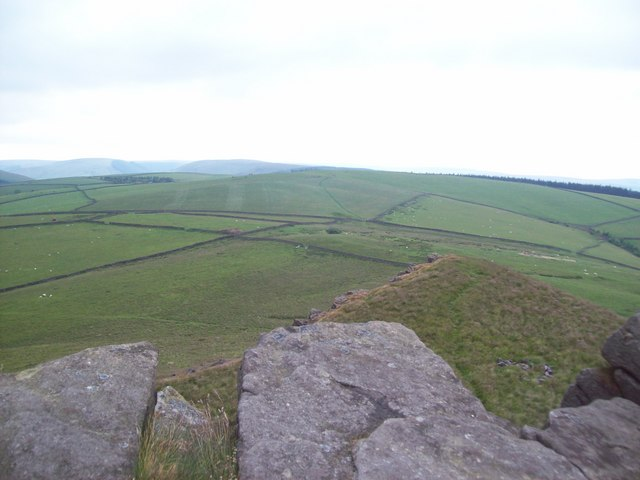 Grazing Meadows Viewed from Crook Hill