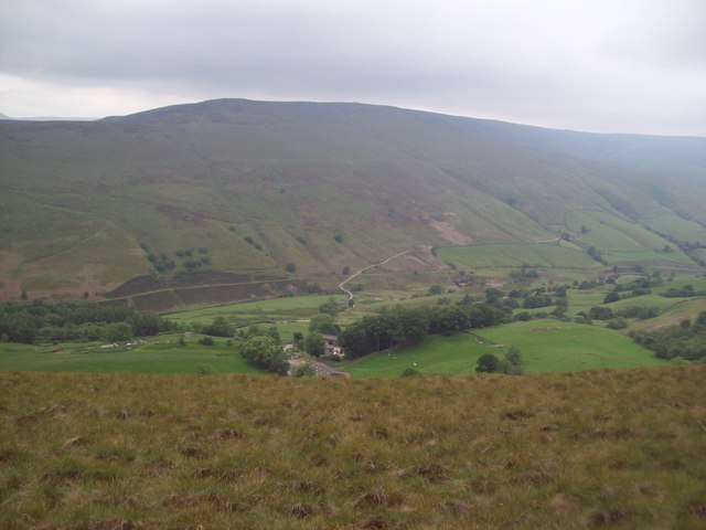Overlooking Rowlee Farm