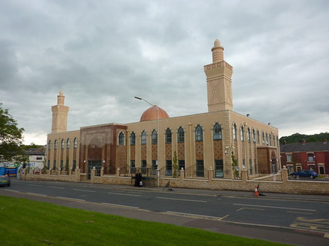 Mosque on Audley Range, Blackburn