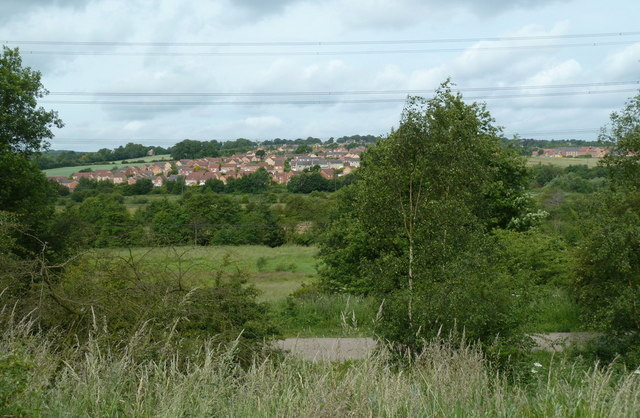 View across the Rother valley