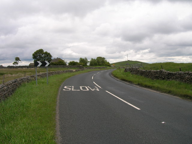 B6265 towards Pateley Bridge