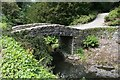 SH7972 : Footbridge at Bodnant Garden by Jeff Buck