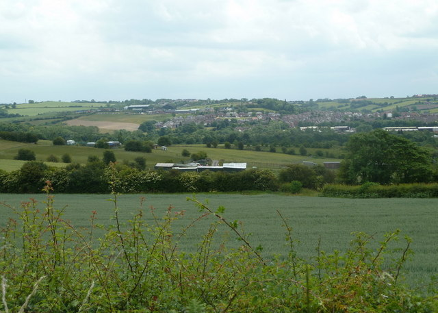 View south from Delves Lane