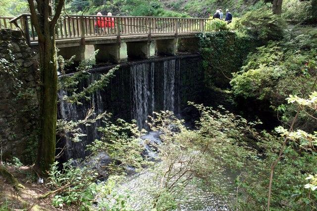 The Waterfall at Bodnant Garden