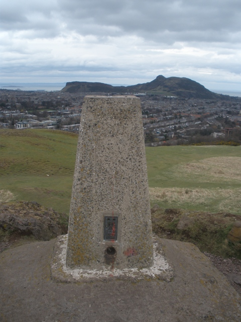 Trig Pillar, Blackford Hill