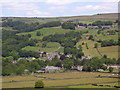 SK2692 : Looking down onto Bradfield by Martin Speck