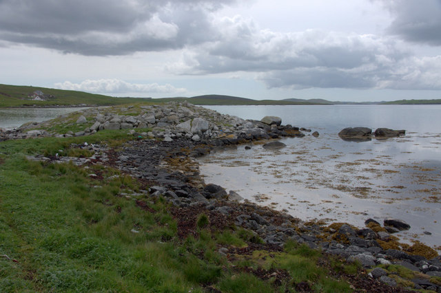 Broch at Burravoe, Brae