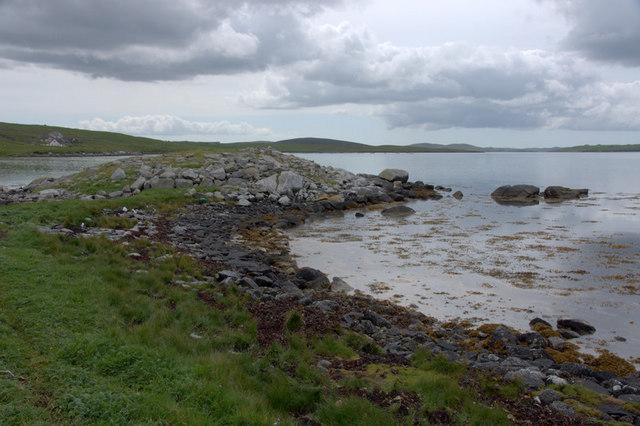 Broch at Burravoe, Brae