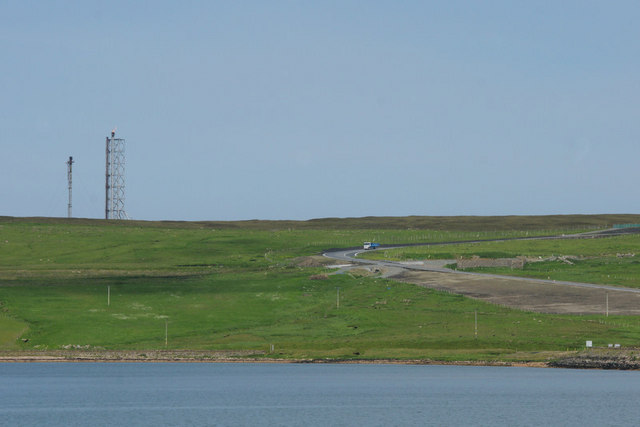 Hill of Garth at Sullom Voe