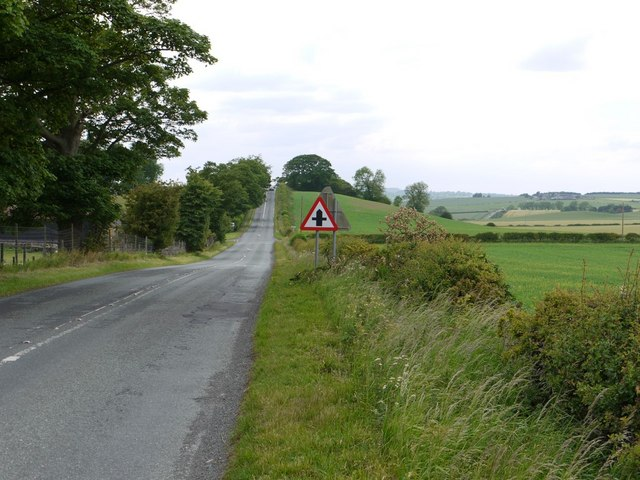 The Military Road near Iron Sign looking west